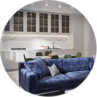 Кухня-гостиная 218