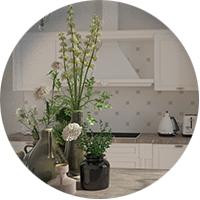 Кухня классика, моделинг и визуализация