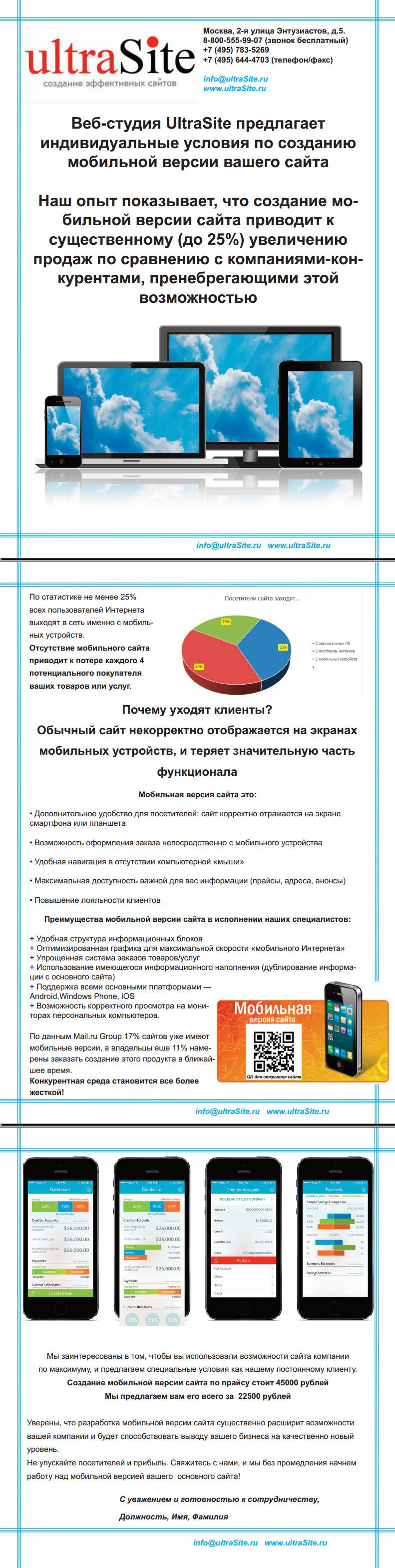 КП-Мобильная версия сайта
