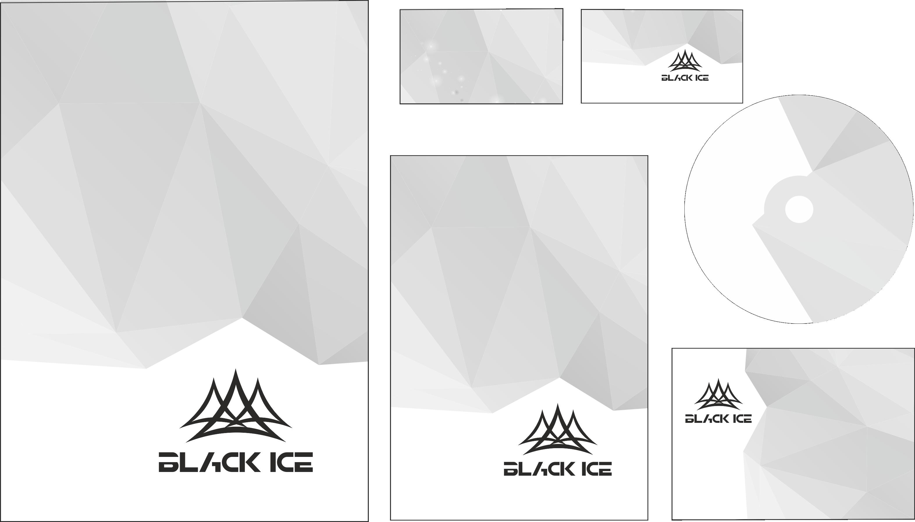 "Логотип + Фирменный стиль для компании ""BLACK ICE"" фото f_57856dce859c037d.png"