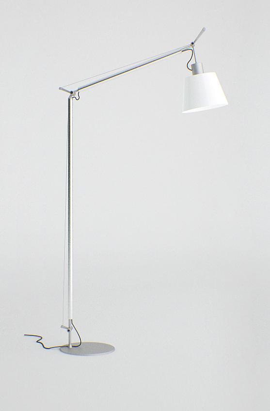 моделирование и визуализация лампы