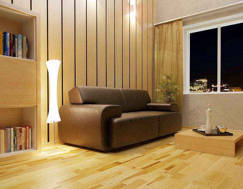 Квартира на Косиора - ночной вариант