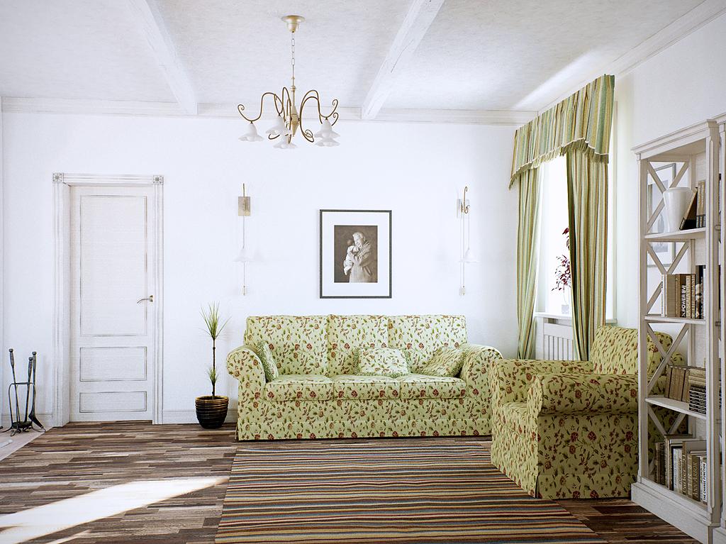 Коттедж - летний домик: гостиная
