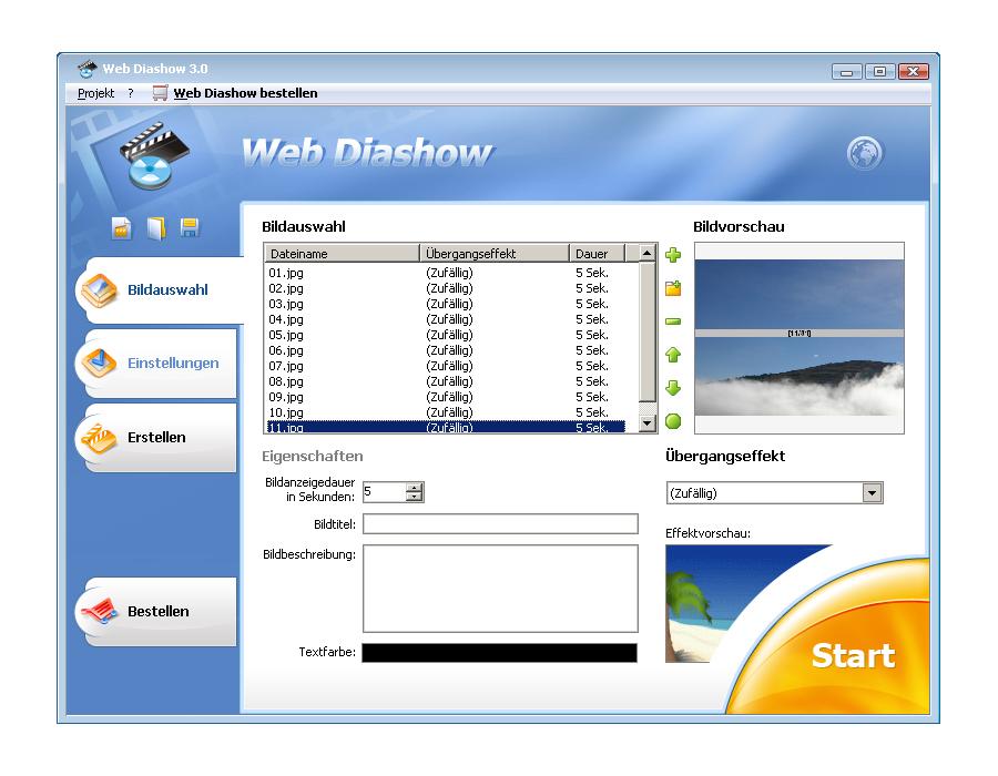 Web Slideshow