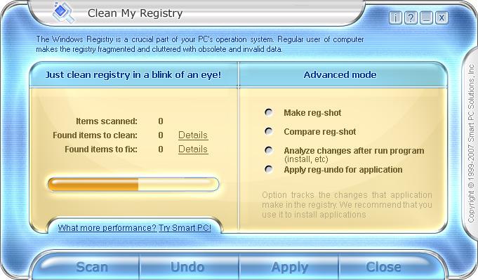 Clean My Registry