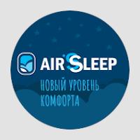 Верстка лендинга Air Sleep