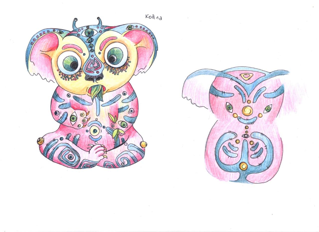Дизайн 5 мягких игрушек фото f_9085cbcb92531292.jpg