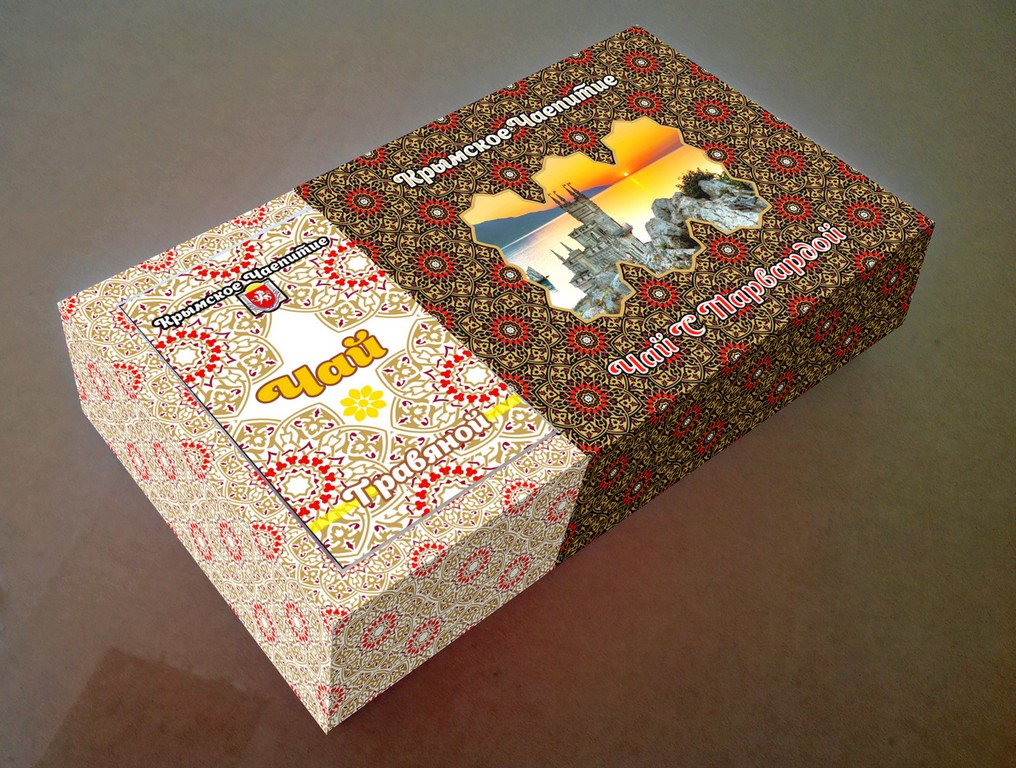 Дизайн коробки сувенирной  чай+парварда (подарочный набор) фото f_3085a55942443ad0.jpg
