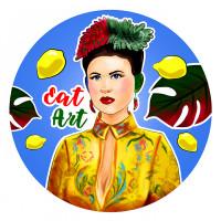 Иллюстрация на заказ Eat Art