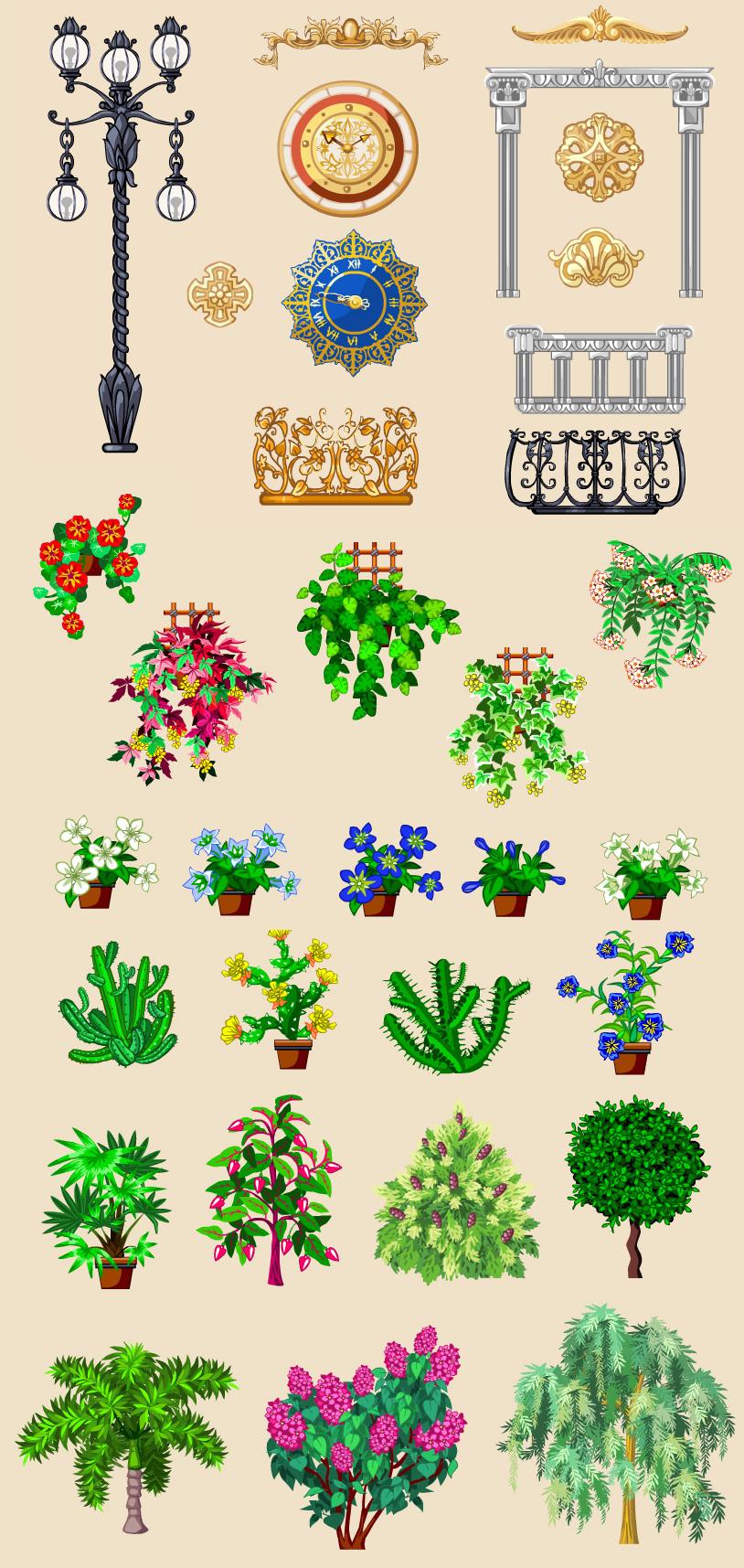 Растения, Цветочная Усадьба