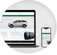 Сайт на Wordpress для сети техцентров Land Rover