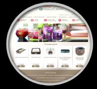 Интернет-магазин на Opencart ароматические свечи