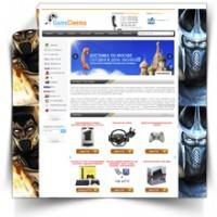 Интернет-магазин игровых приставок