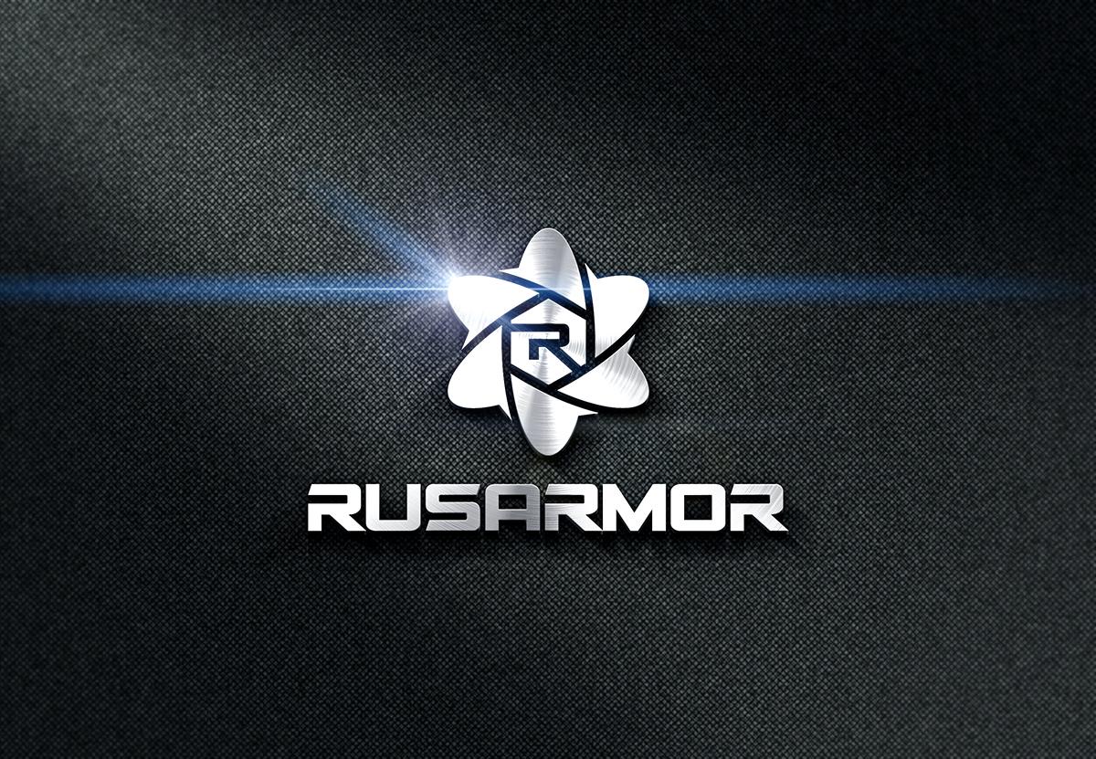 Разработка логотипа технологического стартапа РУСАРМОР фото f_1525a0f0eae2d000.jpg
