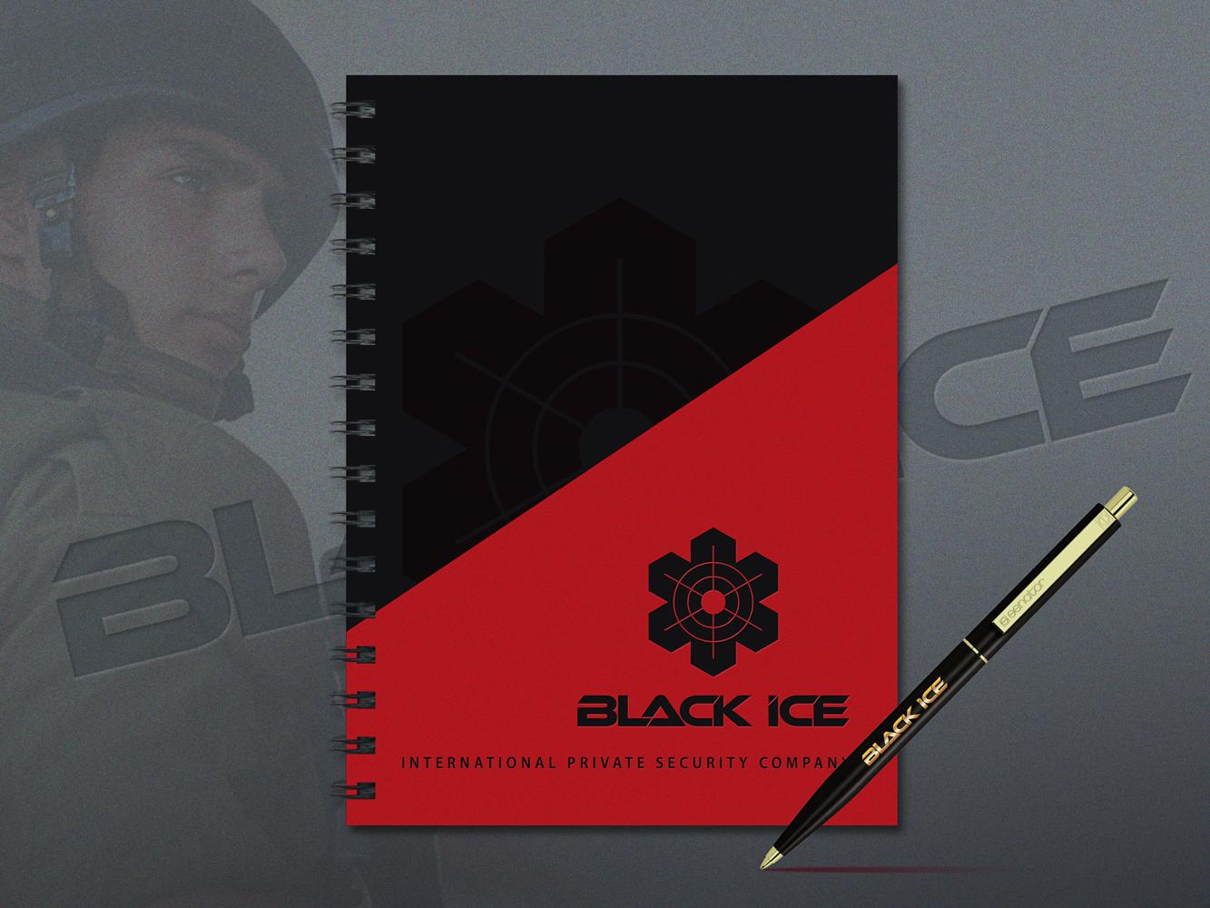 """Логотип + Фирменный стиль для компании """"BLACK ICE"""" фото f_765571a469b34e9b.jpg"""