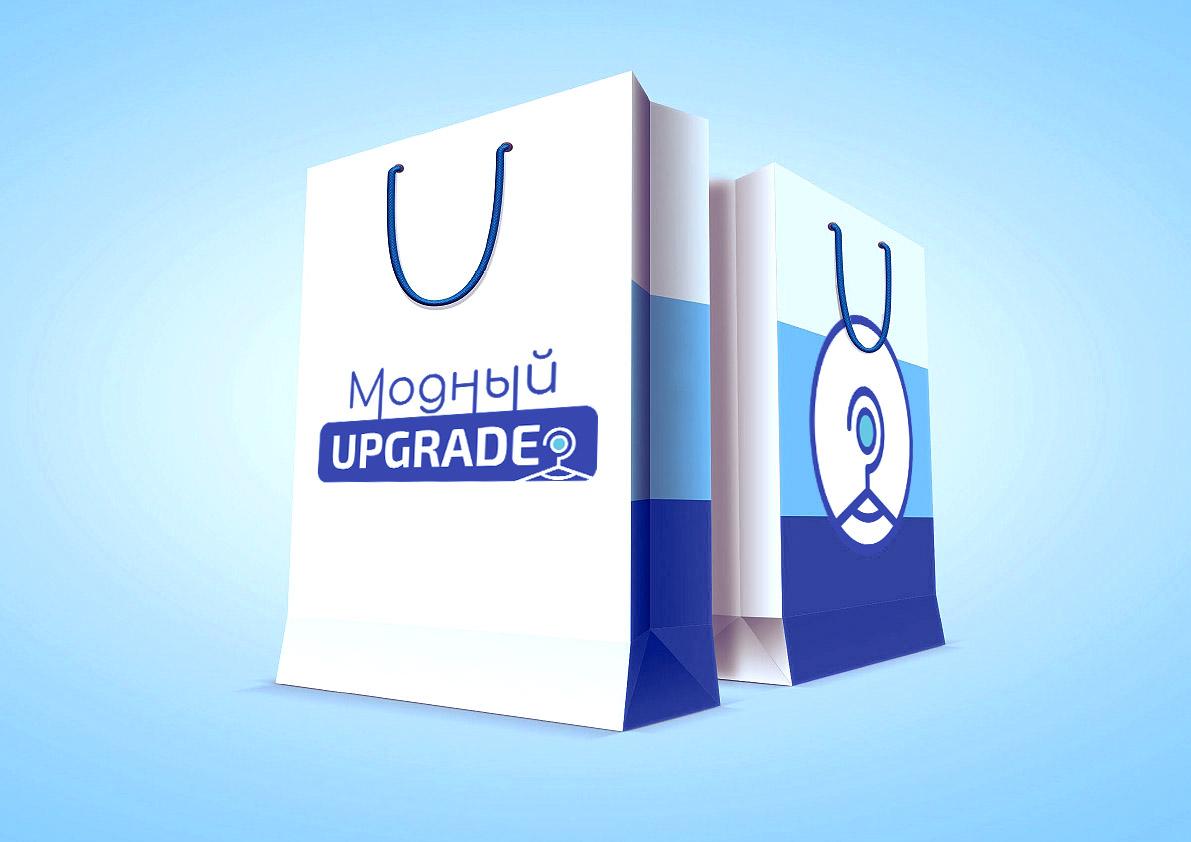 "Логотип интернет магазина ""Модный UPGRADE"" фото f_8095941808be1a1b.jpg"