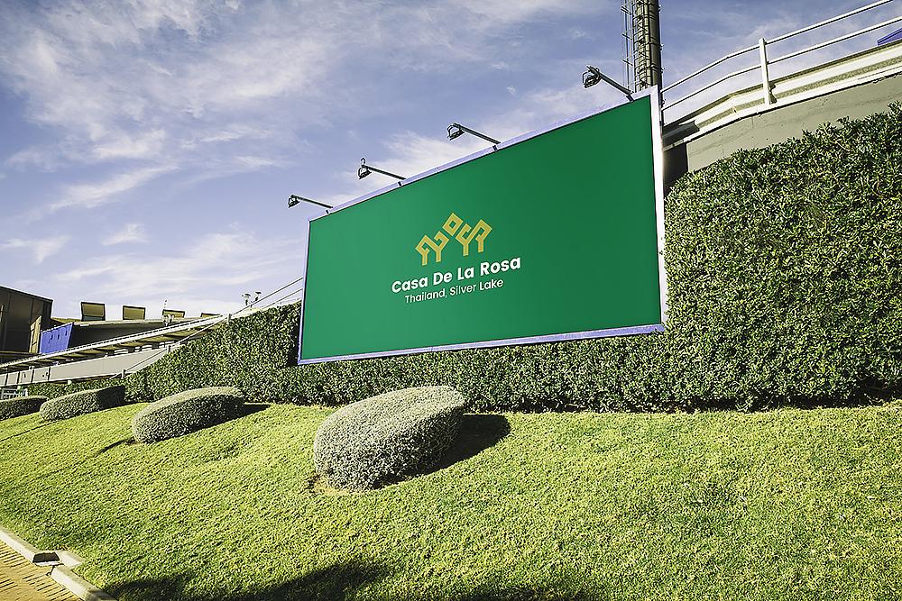Логотип + Фирменный знак для элитного поселка Casa De La Rosa фото f_0565cd314d2e4181.jpg