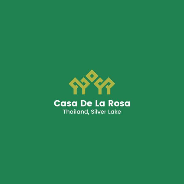 Логотип + Фирменный знак для элитного поселка Casa De La Rosa фото f_0665cd2de5002e36.jpg