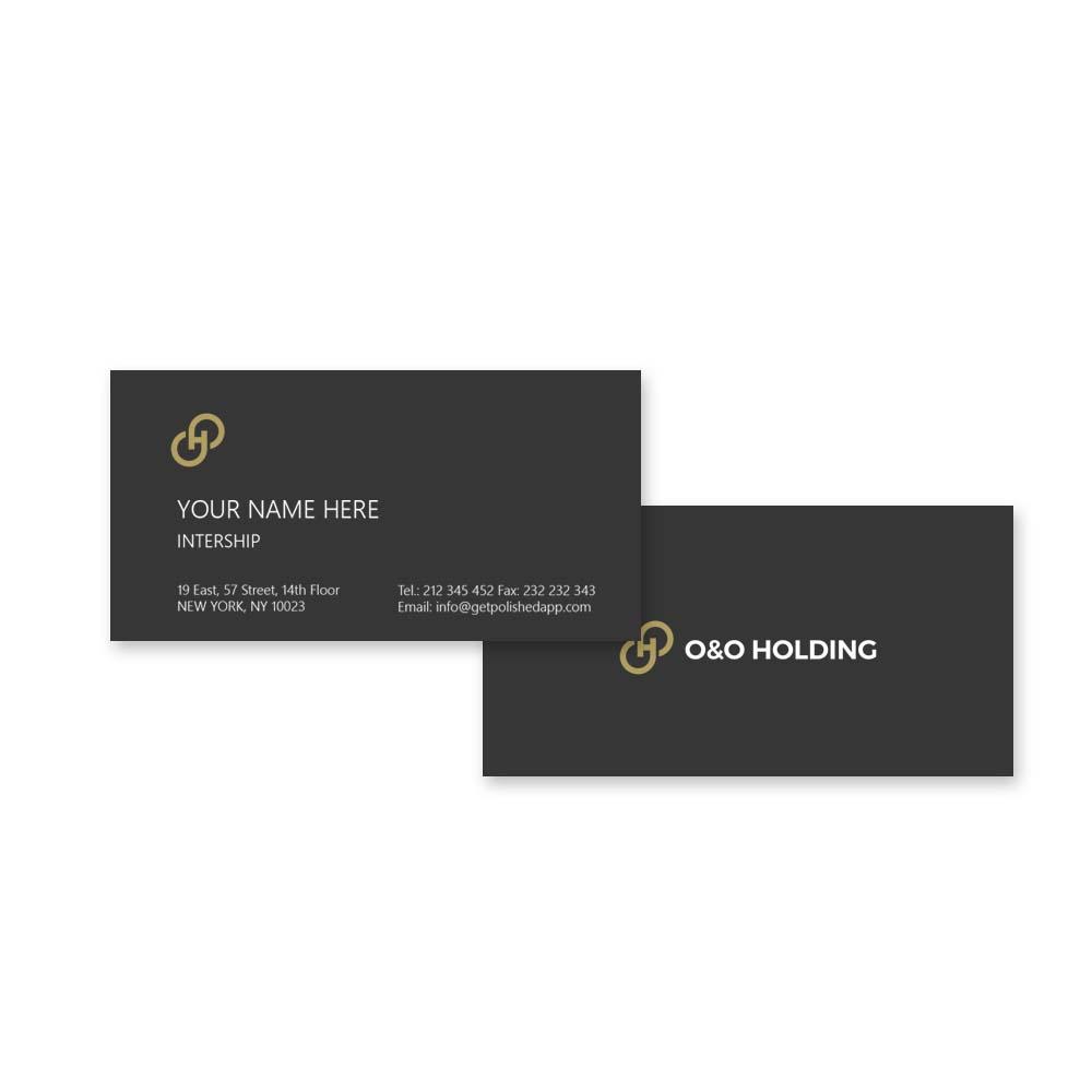 "Разработка Логотипа +  Фирменного знака для компании ""O & O HOLDING"" фото f_0725c7c299d85198.jpg"