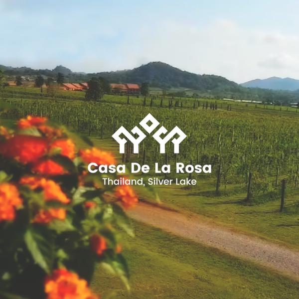 Логотип + Фирменный знак для элитного поселка Casa De La Rosa фото f_3125cd2de564788c.jpg