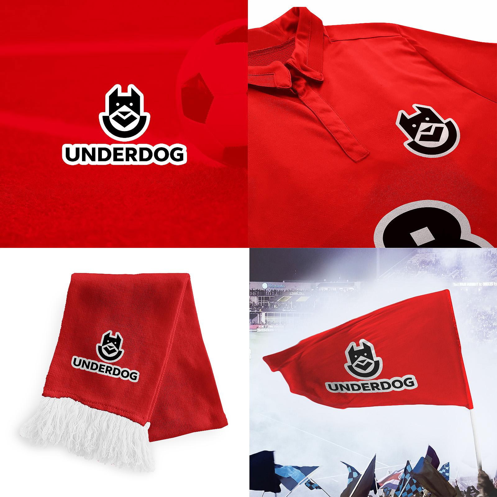 Футбольный клуб UNDERDOG - разработать фирстиль и бренд-бук фото f_4105caf648d00458.jpg