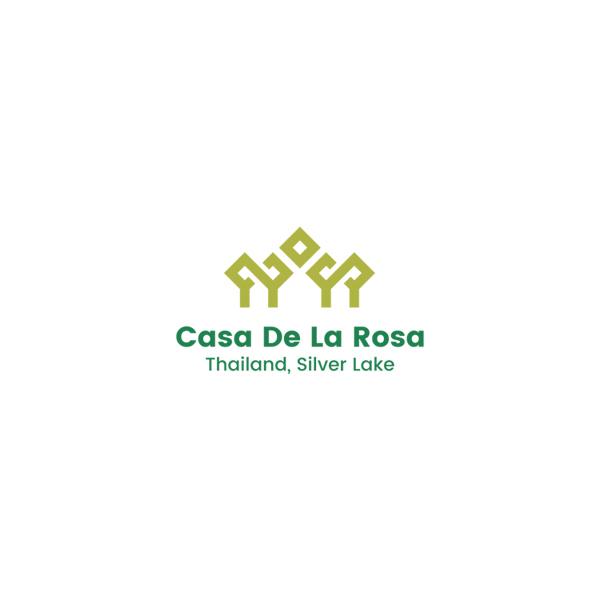 Логотип + Фирменный знак для элитного поселка Casa De La Rosa фото f_7495cd2de4cdb9b8.jpg