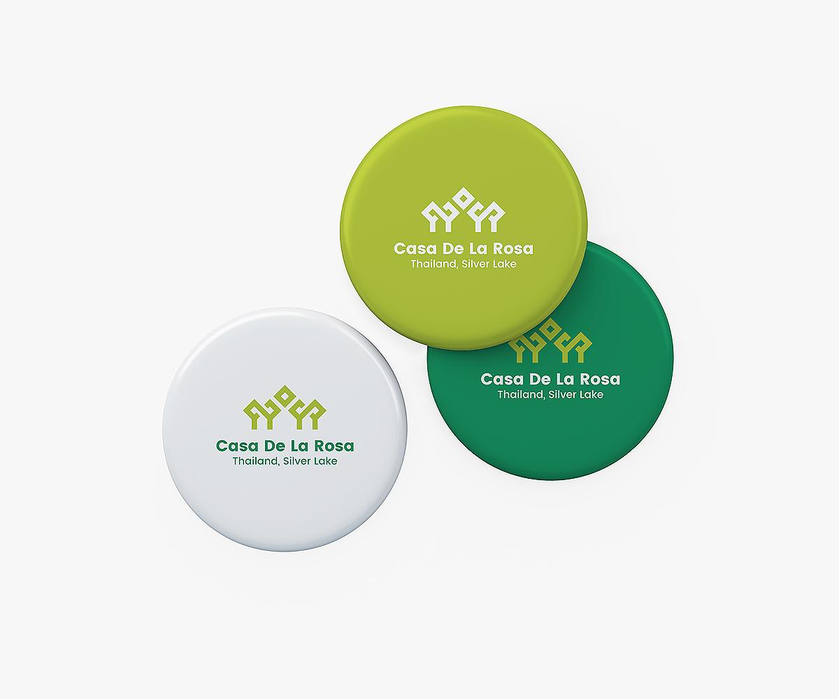 Логотип + Фирменный знак для элитного поселка Casa De La Rosa фото f_8415cd314925dba4.jpg