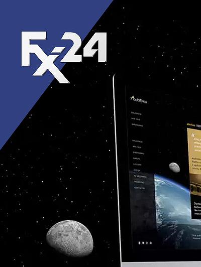 Разработка логотипа компании FX-24 фото f_8725451011cd91b0.jpg