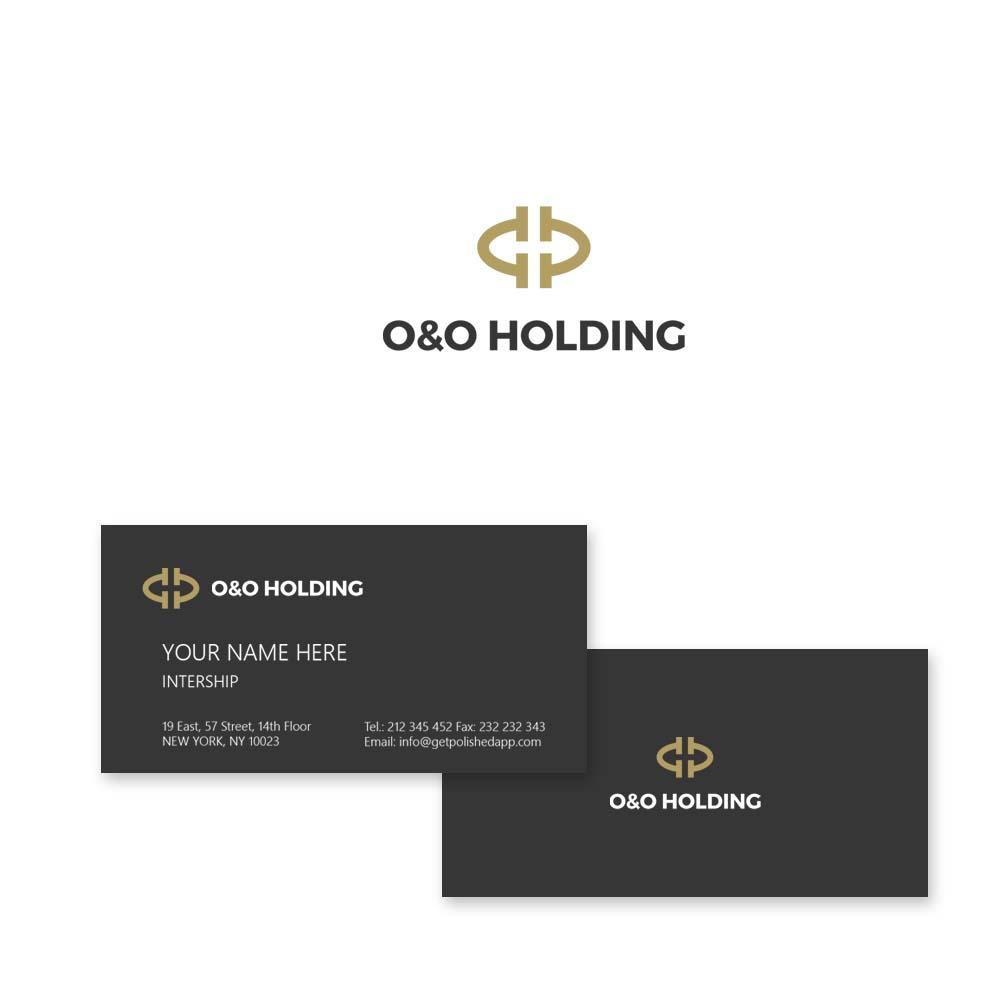 "Разработка Логотипа +  Фирменного знака для компании ""O & O HOLDING"" фото f_8945c7c49a080b23.jpg"