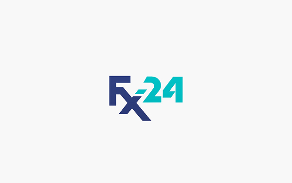 Разработка логотипа компании FX-24 фото f_9465451011307135.jpg
