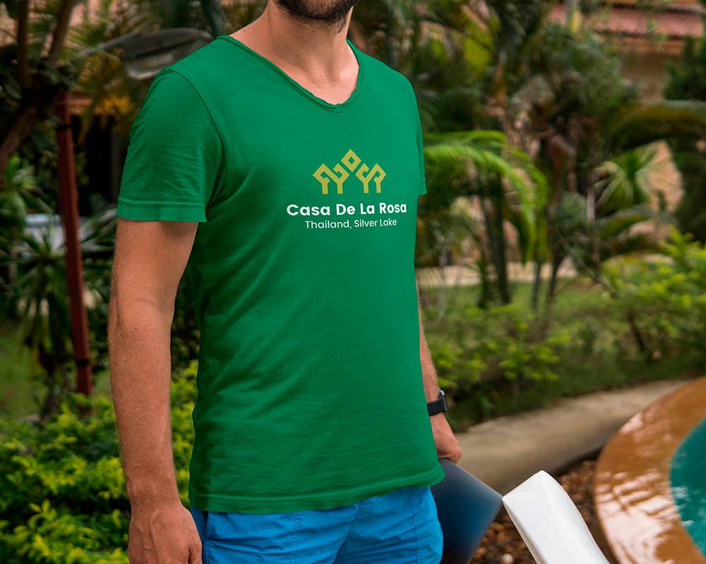Логотип + Фирменный знак для элитного поселка Casa De La Rosa фото f_9975cd31cd048c34.jpg