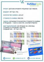 Кейс - Кровати-машины (225 продаж за 4 месяца)