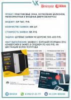 Кейс - 850+ заявок до 400 руб. на окна и двери из ОК/ВК