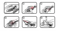 Инструкция по чистке рыбы рыбочисткой Grumms