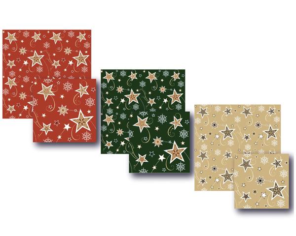 Дизайн новогодней коллекции салфеток Bulgaree Green