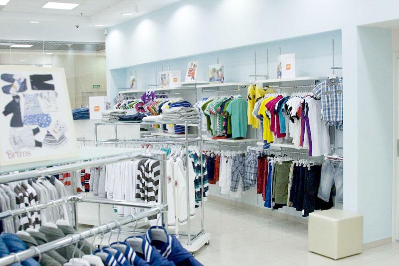 Дизайн интерьера и торгового оборудования магазина BellaBambini