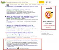 Я в органике Яндекса на 1 стр -1