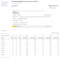Яндекс Директ. Служба доставки еды. Поиск