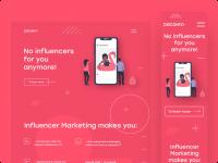 Разработка дизайна сайта  b2b app