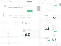 Разработка дизайна сайта для услуг Коллегии банкиров России
