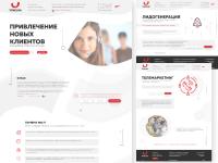 разработка дизайна сайта для UNICOM( всего порядка 12 страниц)