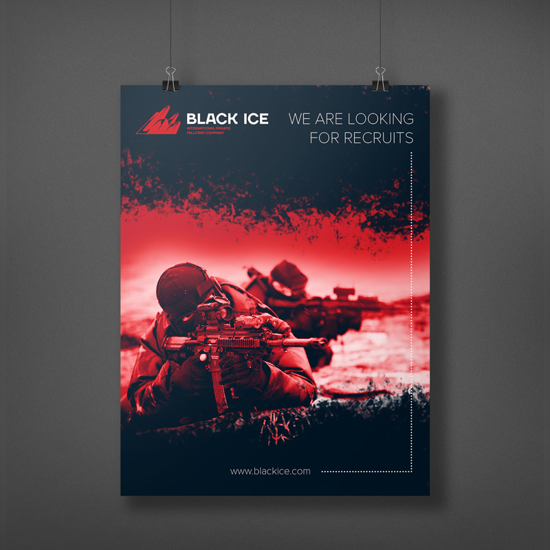 "Логотип + Фирменный стиль для компании ""BLACK ICE"" фото f_03056e19caaa682d.jpg"