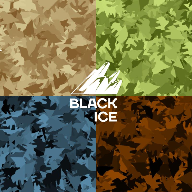 """Логотип + Фирменный стиль для компании """"BLACK ICE"""" фото f_46256f13ab67bbf8.jpg"""