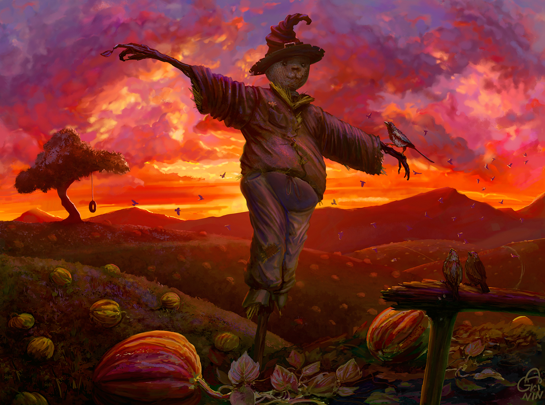 """The Scarecrow"", Иллюстрация"