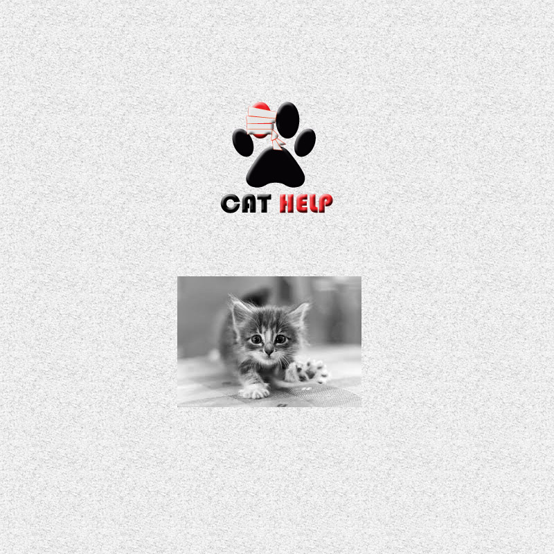 логотип для сайта и группы вк - cat.help фото f_29259da77b043ef6.jpg