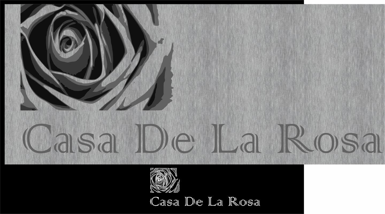 Логотип + Фирменный знак для элитного поселка Casa De La Rosa фото f_4375cd438b2e9da3.jpg