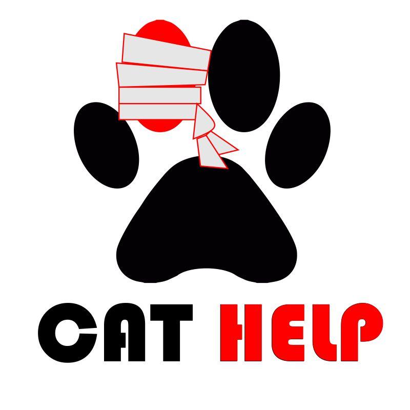 логотип для сайта и группы вк - cat.help фото f_99259da5e449528e.jpg