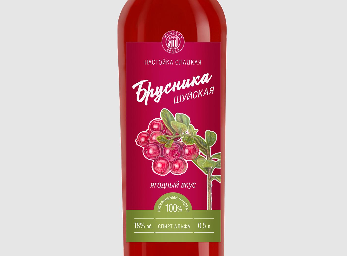 Дизайн этикетки алкогольного продукта (сладкая настойка) фото f_3745f8e7edbc2f33.jpg