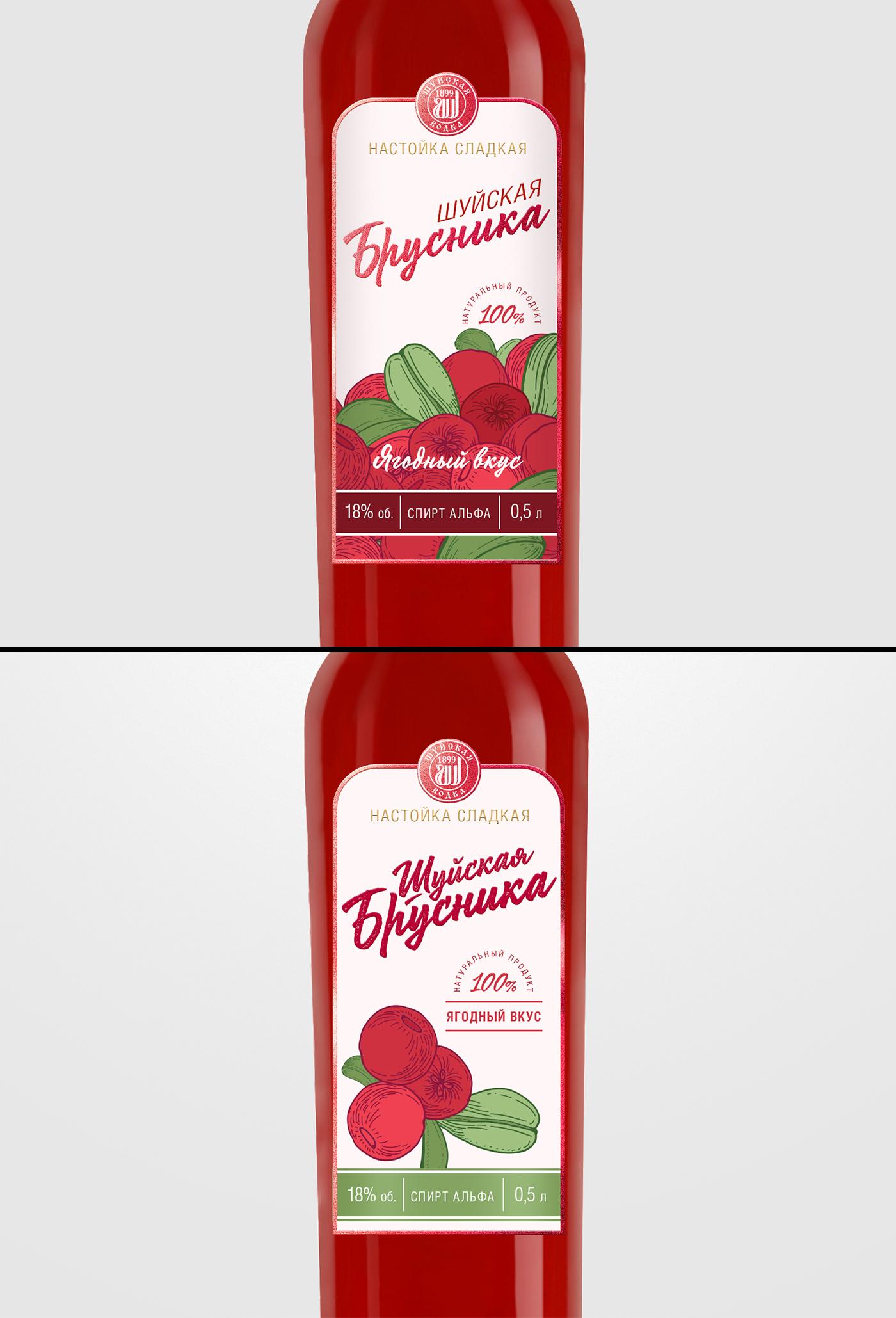 Дизайн этикетки алкогольного продукта (сладкая настойка) фото f_8355f8ee158a73b6.jpg