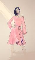платье для акции